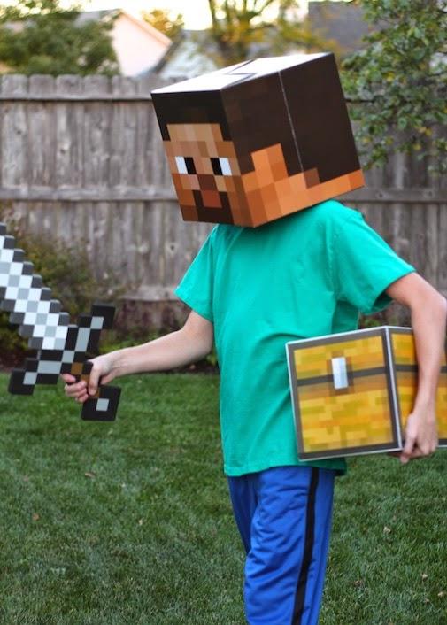 Project Denneler Minecraft Steve Costume