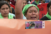 (Fotos) Honduras 8 de marzo: Mujeres campesinas exigen tierra