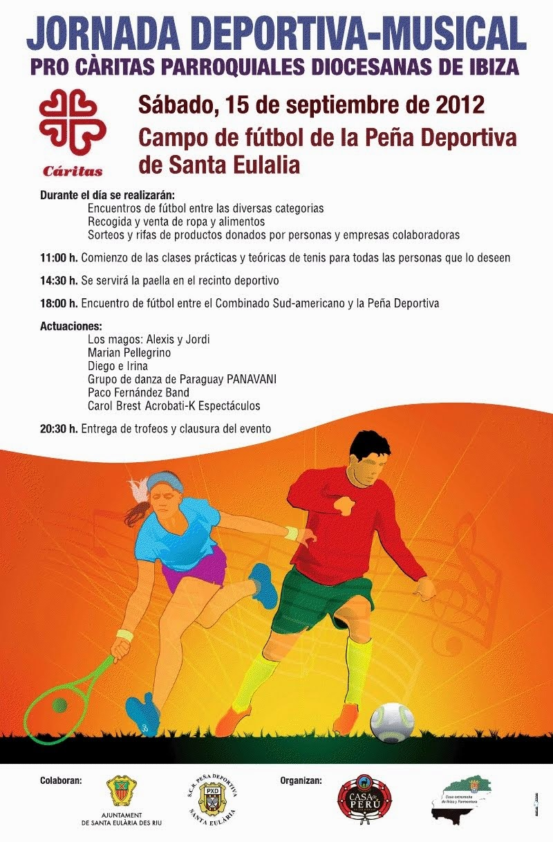 Jornada Deportiva Musical pro Caritas