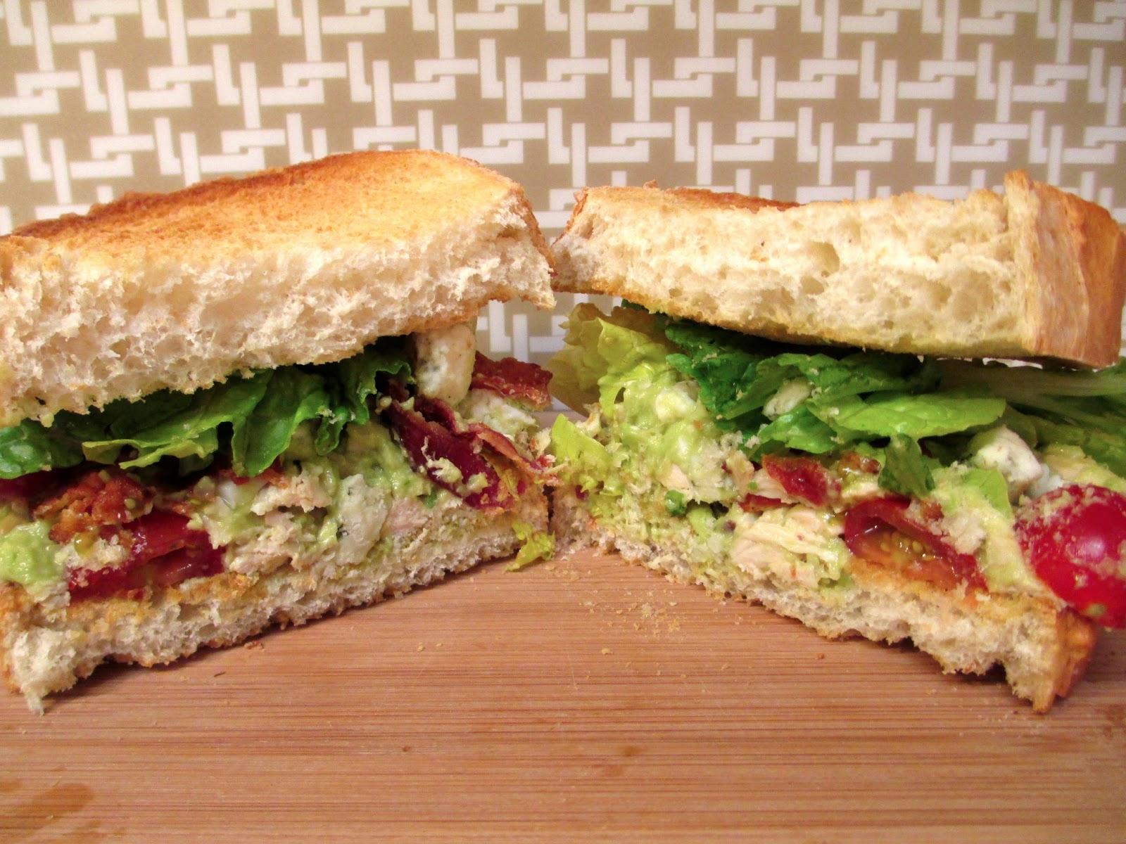 Chicken, 2 Adults, 3 Meals: Cobb Salad Sandwiches | Epicurious Em