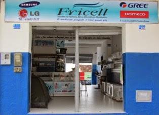 Fricell: Solução em: telefonia, eletro, informatica e climatização.