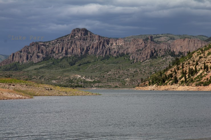 Rocky mountain adventure camping and fishing at blue mesa for Blue mesa reservoir fishing