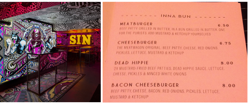 MEATLiquor Brighton - Venue and Menu