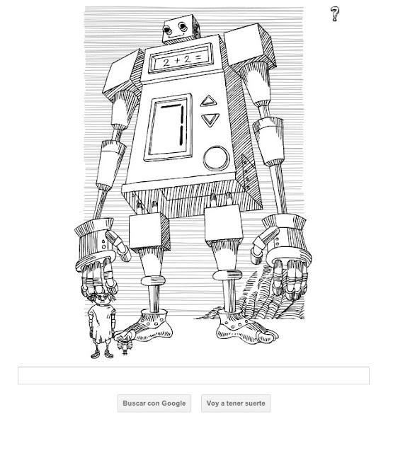 Doodle de Google inspirado en Stanislaw Lem y Daniel Mróz
