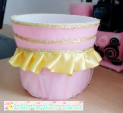 pink cute cup