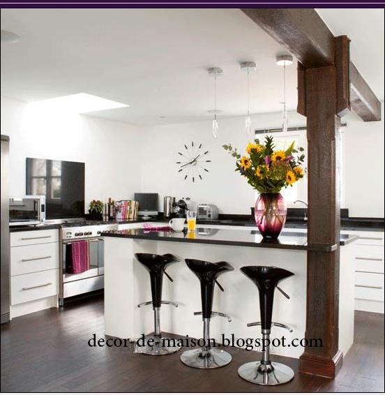 Photo d cor cuisine d cor de maison d coration chambre for Decor simple de cuisine