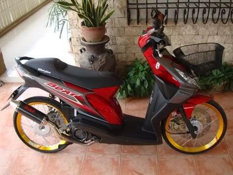 Modifikasi Honda Beat Simpel Berkesan Nusantara