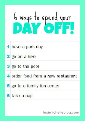how to spend your day off