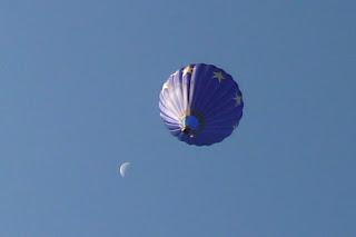 montgolfière sur usson