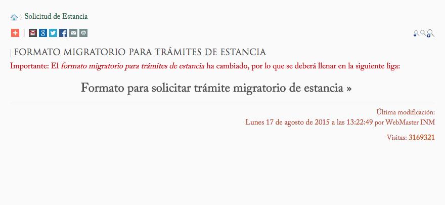 EMIGRANTES EN MÉXICO: De TURISTA A RESIDENTE PERMANENTE por Vínculo ...