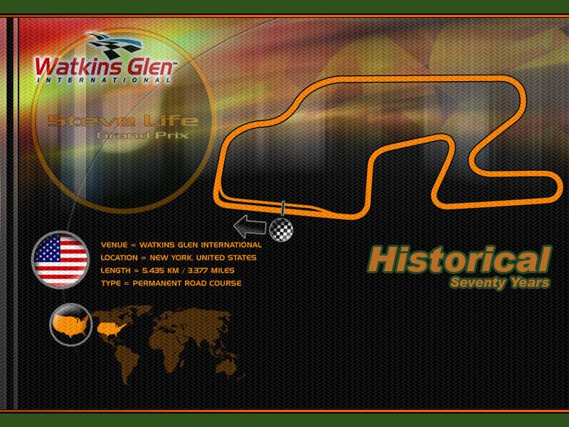 Circuito Watkins Glen : Rfactor circuitos históricos monza watkins glen