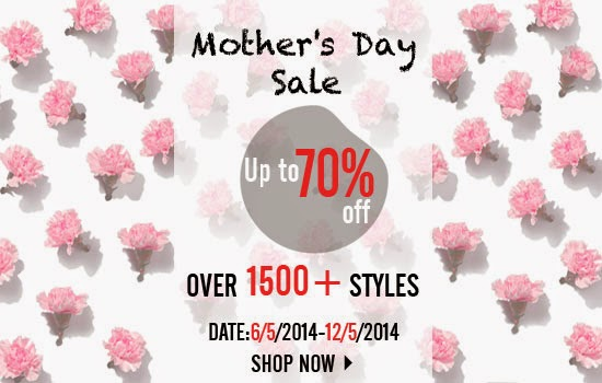 romwe mother day sale