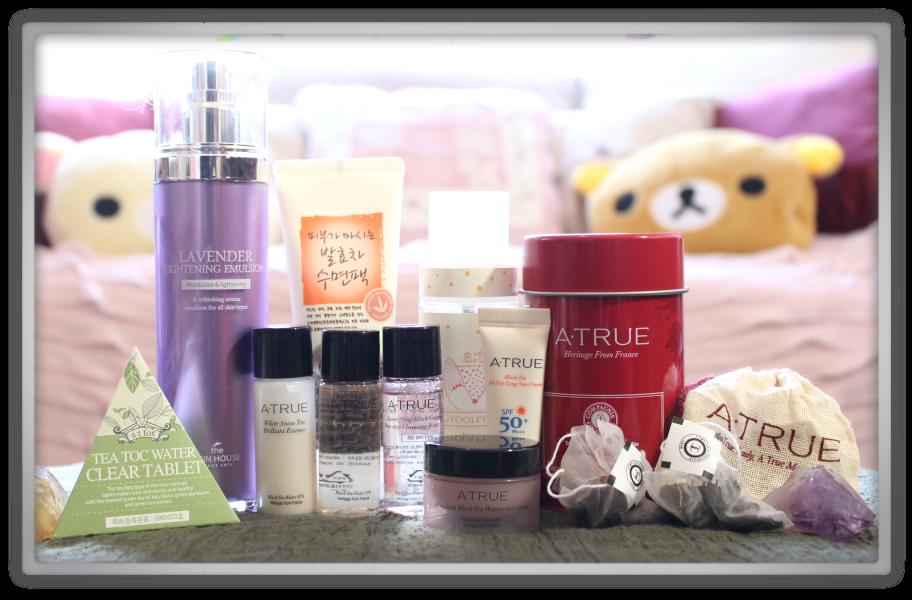 겟잇뷰티박스 by 미미박스 memebox beautybox # Special #30 Tea Cosmetics unboxing review preview box look inside