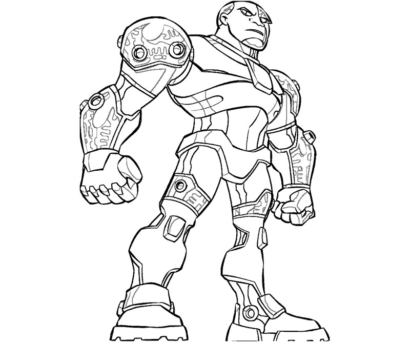 teen titans coloring pages - photo#12