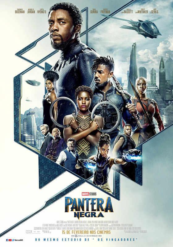 Pantera Negra 2018 Dublado