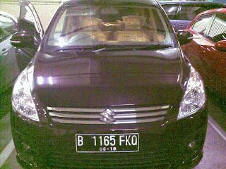 Pengiriman Ertiga B 1165 FKO Jakarta ke Manado