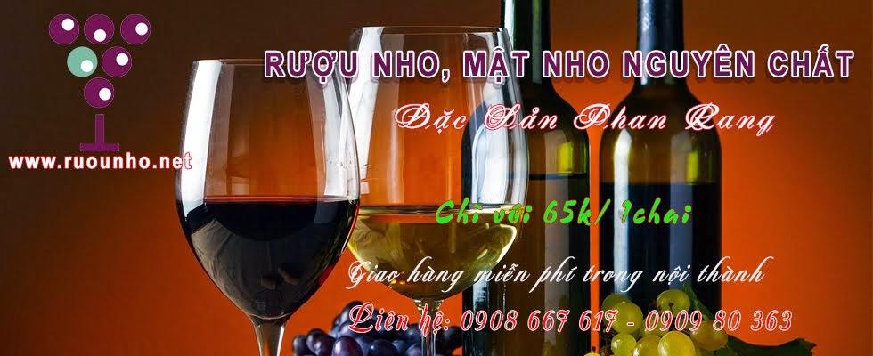 Rượu nho nguyên chất, Đặc sản Phan Rang