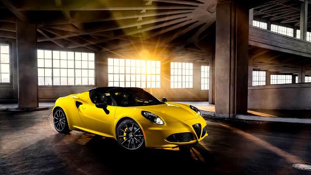 alfa romeo 4c spider 2015 imagenes de carros lujosos