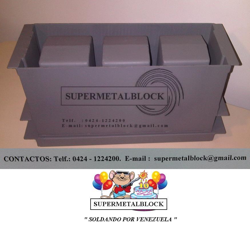 Supermetalblock moldes formaletas hormas para hacer - Moldes de cemento ...