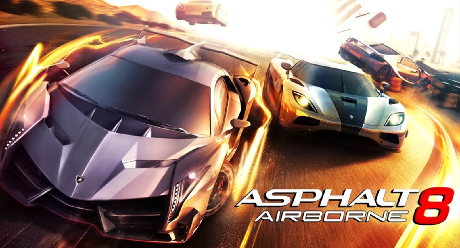 Asphalt 8: Airborne v1.0.0 APK + SD Data | Android Games Download