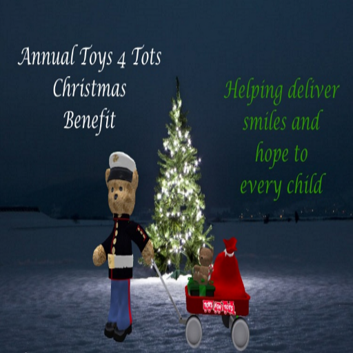 toys 4 tots in second life interview with rocky hillburton lanai