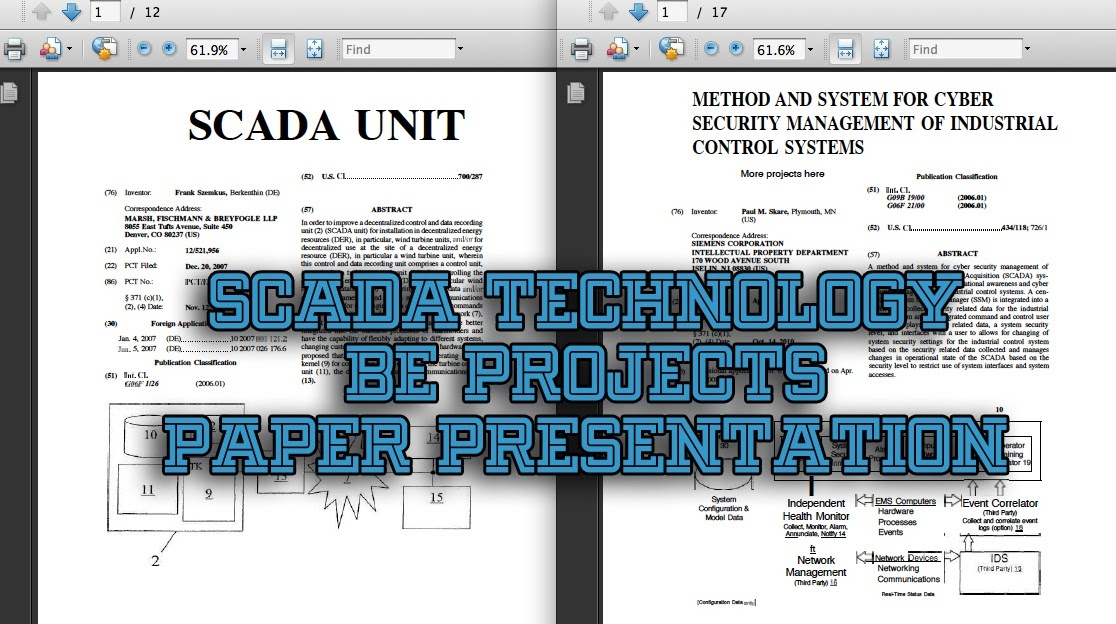 scada system research papers This paper presents the development of a supervisory control and data acquisition (scada) based remote terminal unit (rtu) for customer side distribution automation system.