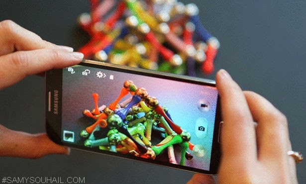 20 ميغابيكسل دقة كاميرا هواتف Samsung الذكية في 2014.