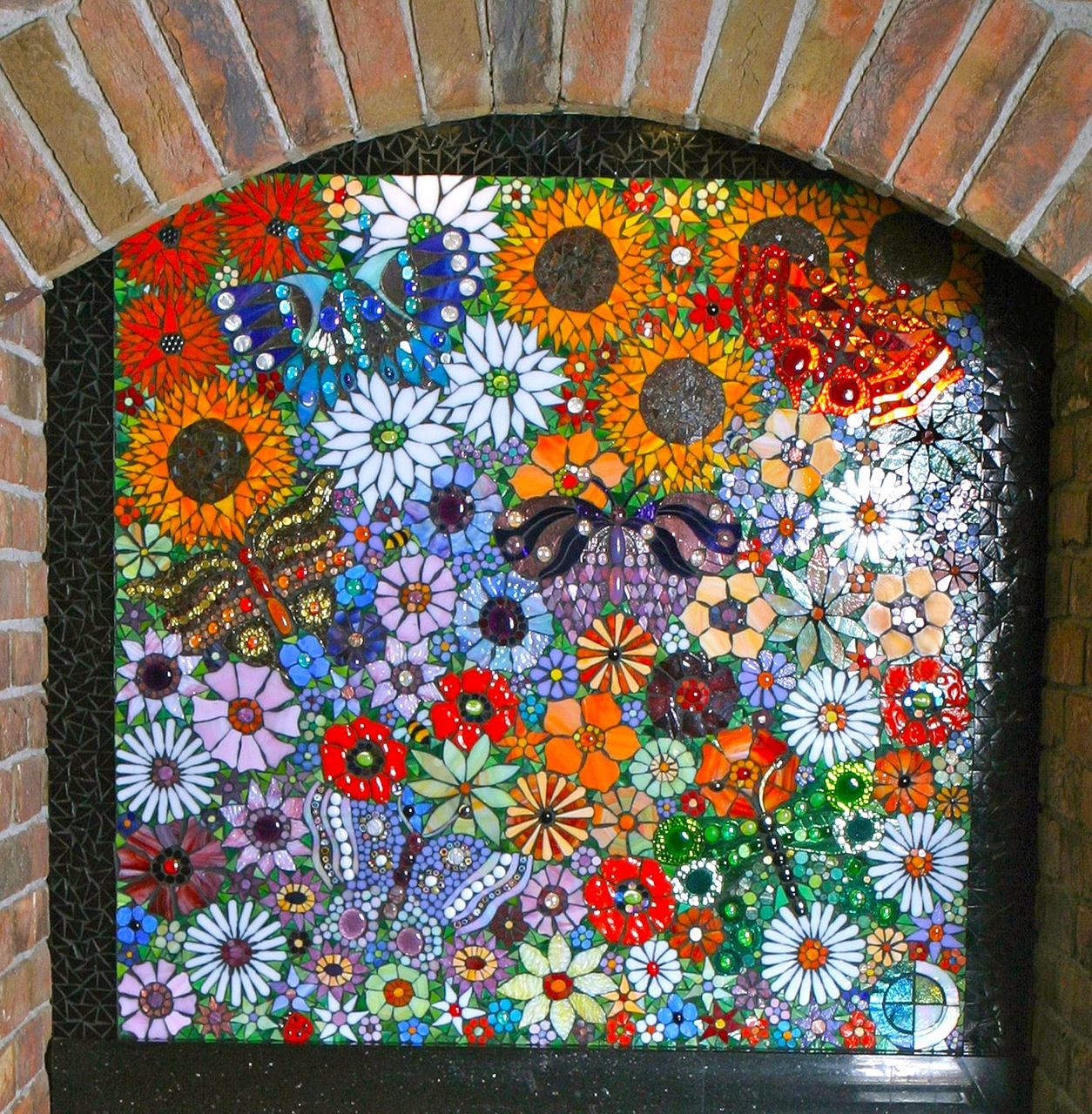 Http Jaboopee Blogspot Com P Mosaic Work Gold Flowers Photography Html