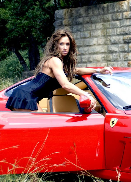 Sondra Hopkins - Female Fitness Model