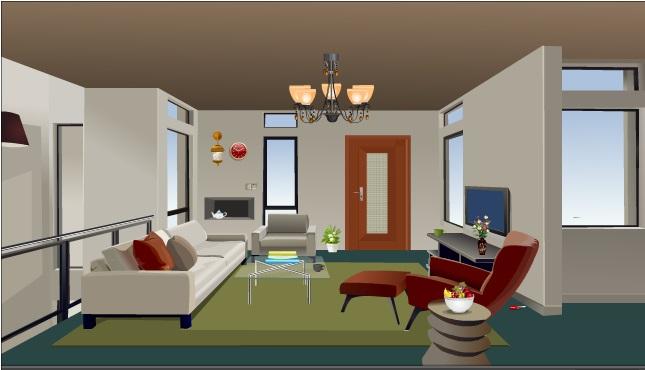Plain Apartment Room Escape Walkthrough Screenshot And