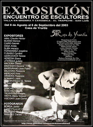 Afiche Encuentro de Escultores