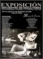 Afiche Encuentro de Escultores