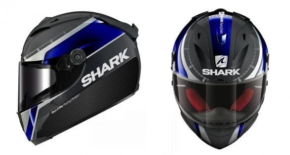 Yamaha Race-Blu livery | Shark helmets | Shark Race-R Pro Carbon | Shark Race-R Pro Carbon Race-blue | Yamaha Race-Blu | Motorcycle Helmet | Carbon Fibre Helmet
