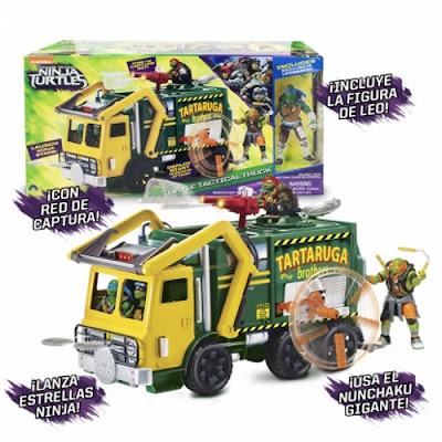 TOYS : JUGUETES - LAS TORTUGAS NINJA 2  Camión + Figura | Battle Tactical Truck  Ninja Turtles 2 Fuera de las sombras  Producto Oficial Pelicula 2016 | A partir de 4 años  Comprar en Amazon España & buy Amazon USA