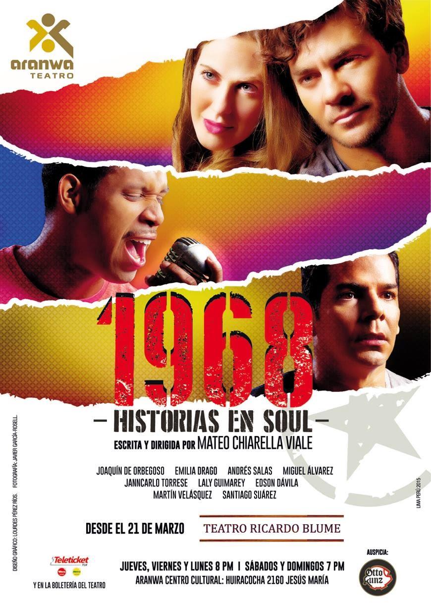 """NO TE PIERDAS """"1968 -HISTORIAS EN SOUL"""""""