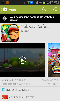 surfers on galaxy grand subway surfers for galaxy y an armv6 android
