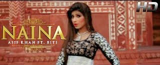 LYRICS OF NAINA SONG | OFFICIAL VIDEO | ASIF KHAN FT. BITI