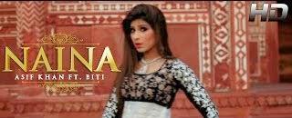 LYRICS OF NAINA SONG | OFFICIAL VIDEO | ASIF KHAN FT. BITI