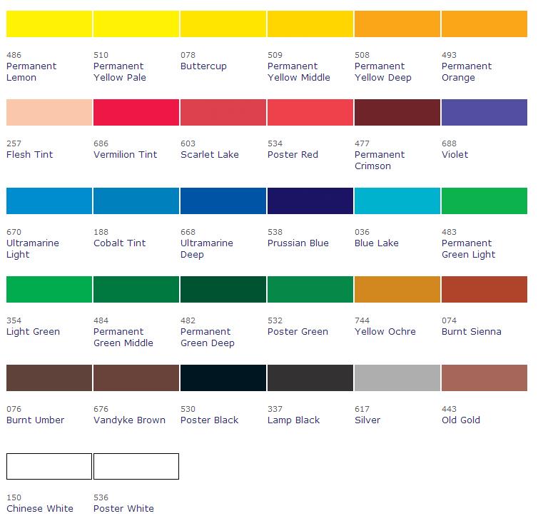 Poster-Colour