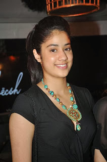 Jhanvi Kapoor Spicy Daughter of Sridevi Spotted at a Function