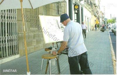 Concurso pintura rápida Binéfar