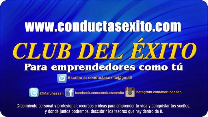 """Suscríbete gratis al boletín """"Club del Éxito"""""""