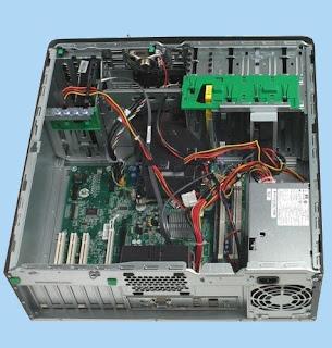 Open desktop computer