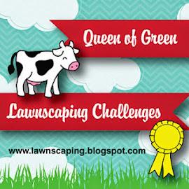 Queen of Green Badge