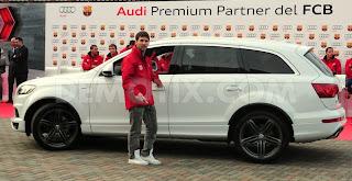 Lionel Messi Car