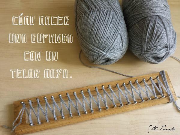 Como se hace una bufanda aprender manualidades es share - Como se hace manualidades ...