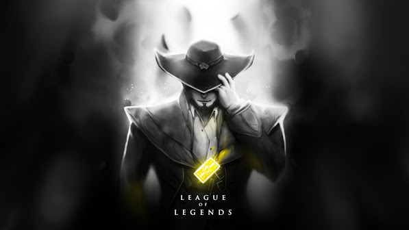 twisted fate art champion league of legends