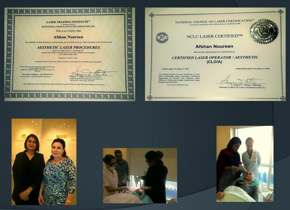 Laser Hair Removal Mrs Afshan Noureen American Certified Laser