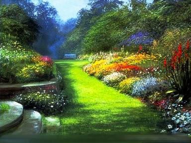 Jardines con muchas flores wallpapers hd - Jardines y paisajes ...