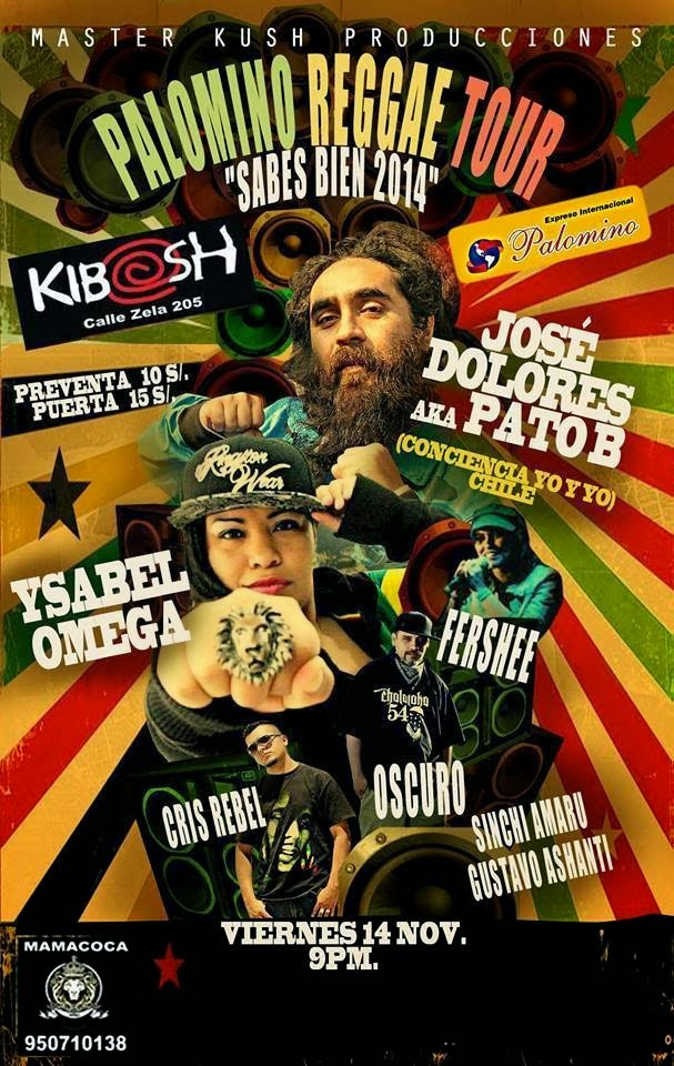 Arequipa Reggae Fest 2014 - 14 de noviembre